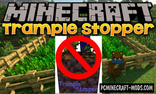 Trample Stopper - Tweak Mod For Minecraft 1.16.5, 1.16.4