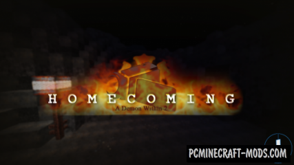 Homecoming - A Demon Within 2 Map For Minecraft