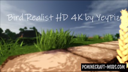 Bird Realist Resource Pack For Minecraft 1.13.2
