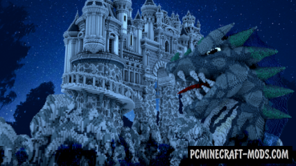 Avarderon Castle Map For Minecraft