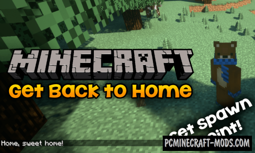 Get Back to Home Mod For Minecraft 1.12.2