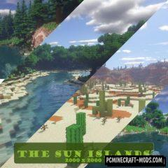 The Sun Islands Map For Minecraft