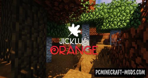 Jicklus Orange 16x16 Resource Pack For Minecraft 1.14.4
