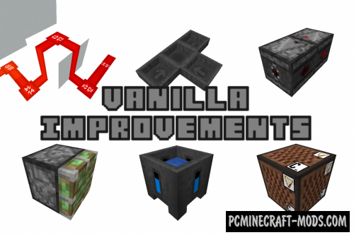 Vanilla Improvements Texture Pack For Minecraft 1.16.5, 1.16.4