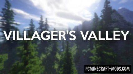 Villager's Valley Map For Minecraft