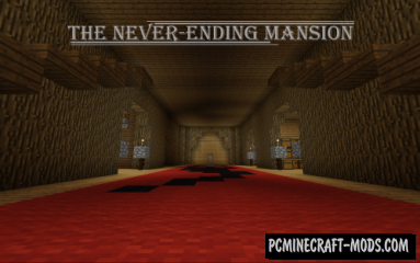 The Neverending Mansion Map For Minecraft