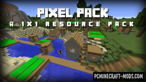 PixelPack Resource Pack For Minecraft 1.12.2