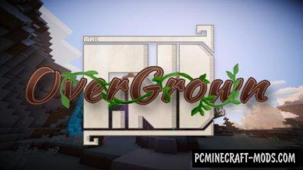 The Find Overgrown 16x Resource Pack 1.16.3, 1.16.2, 1.15.2