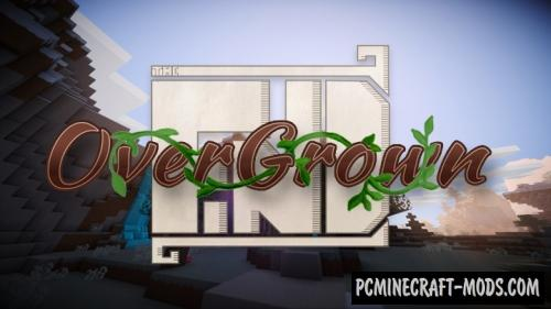 The Find Overgrown 16x Resource Pack 1.16.4, 1.16.3, 1.15.2