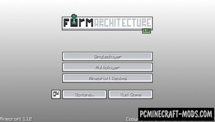 FORM Architecture Resource Pack For Minecraft 1.12.2