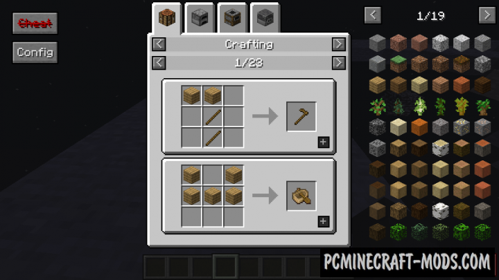 Roughly Enough Items - REI Mod For Minecraft 1.15.2, 1.14.4
