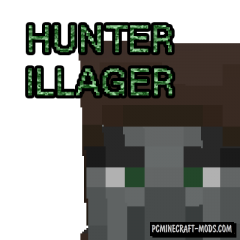 HunterIllager - New Mob Mod For Minecraft 1.16.3, 1.15.2, 1.14.4