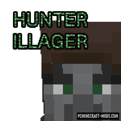 HunterIllager - New Mob Mod For Minecraft 1.16.4, 1.14.4