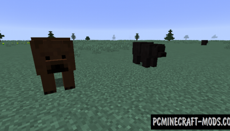 Extended WildLife Mod For Minecraft 1.12.2