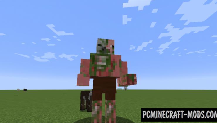Mutant Mobs Mod For Minecraft 1.12.2