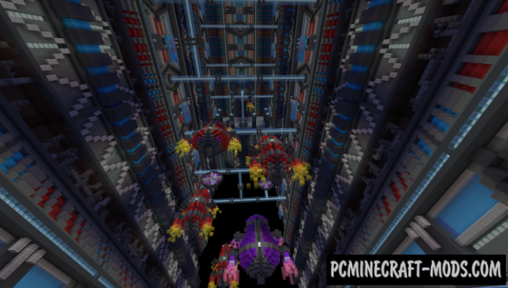 Terminal Velocity Map For Minecraft