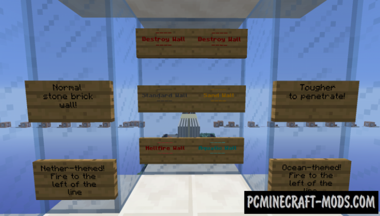 Bombs Away! Map For Minecraft