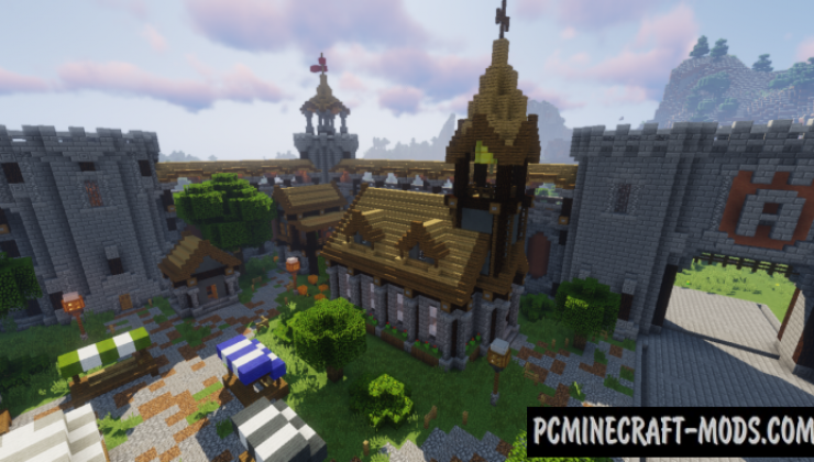My Little Kingdom Map For Minecraft 1.14.4, 1.14.3 | PC Java Mods
