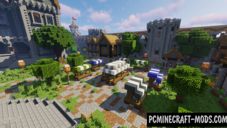 My Little Kingdom Map For Minecraft 1.15, 1.14.4 | PC Java Mods