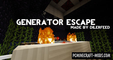 Generator Escape Map For Minecraft