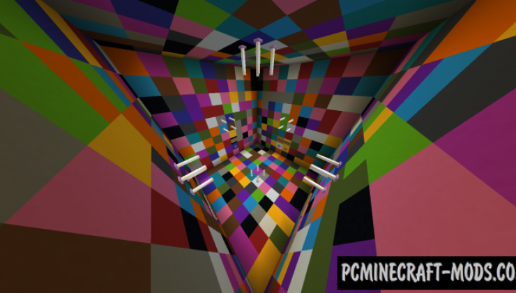 Colorful Parkour Map For Minecraft