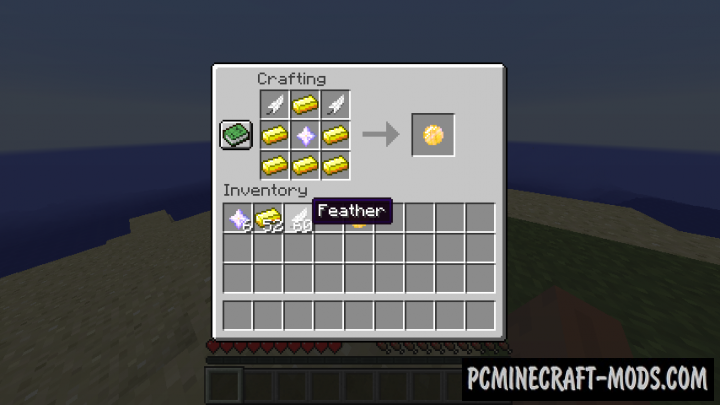 Coin of Flight - Tool Mod For Minecraft 1.16.5, 1.12.2