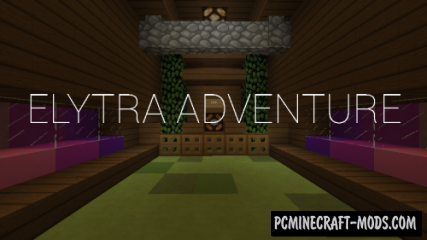 Elytra Adventure Map For Minecraft