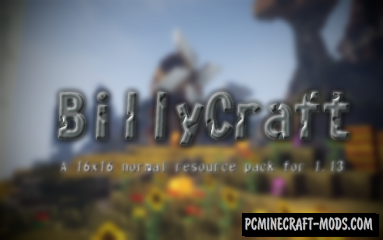 BillyCraft Resource Pack For Minecraft 1.13.2