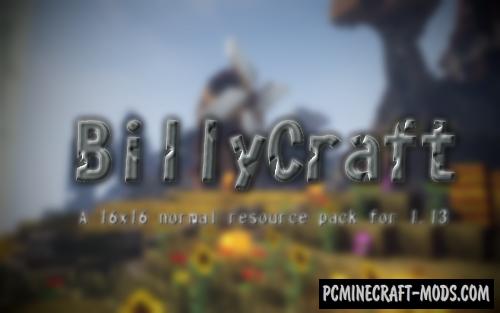 BillyCraft Resource Pack For Minecraft 1.13.2