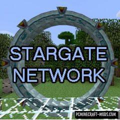 Stargate Network Mod For Minecraft 1.12.2