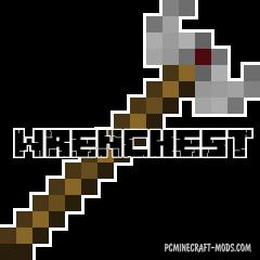 Wrenchest - Tweak Mod For Minecraft 1.16.5, 1.16.4, 1.14.4