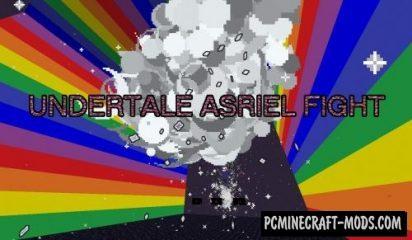 Undertale Asriel Fight Map For Minecraft