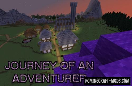 Journey of an Adventurer Map For Minecraft