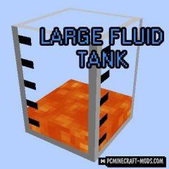 Large Fluid Tank - New Blocks Mod For Minecraft 1.15.1, 1.14.4