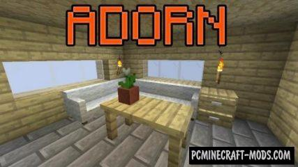 Adorn - Best Decor Mod For Minecraft 1.16, 1.15.2, 1.14.4