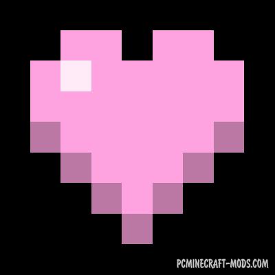 Colorful Health Bar Mod For Minecraft 1.14.4