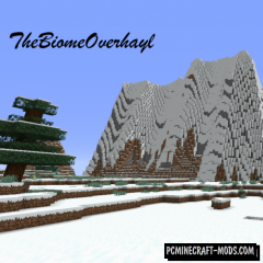 The Biome Overhaul - Biome Mod For Minecraft 1.15, 1.14.4