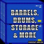 Worse Barrels Mod For Minecraft 1.12.2