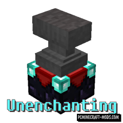 Unenchanting - Tweak Mod For Minecraft 1.15.2, 1.14.4