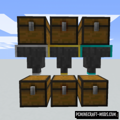 Speedy Hoppers - New Blocks Mod For Minecraft 1.16.4, 1.12.2