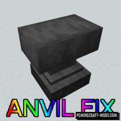 Anvil Fix Mod For Minecraft 1.12.2