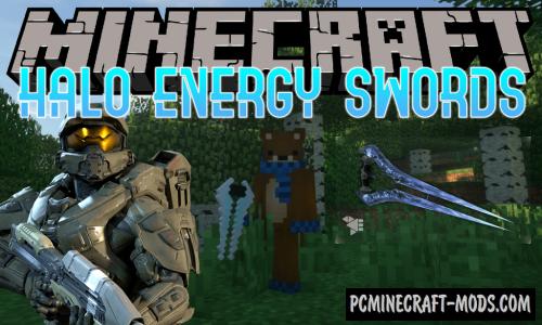 Halo Energy Swords Mod For Minecraft 1.12.2
