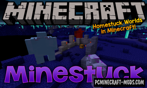 Minestuck - Dimensions, Mobs Mod For MC 1.15.2, 1.14.4, 1.12.2