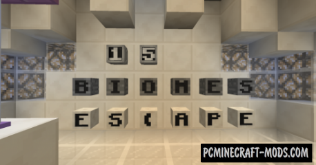 15 Biomes Escape Map For Minecraft