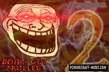 Don't Get Trolled 2 Map For Minecraft