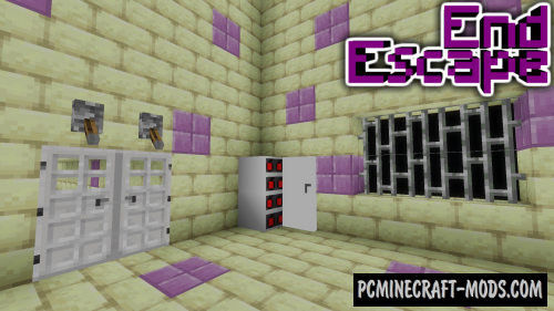 End Escape Map For Minecraft