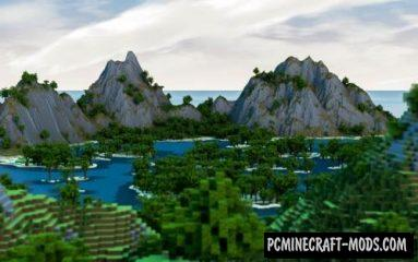 Paradise Haven Map For Minecraft