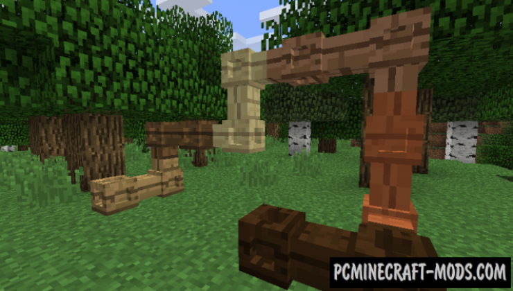 Simple Wooden Pipes Mod For Minecraft 1.12.2