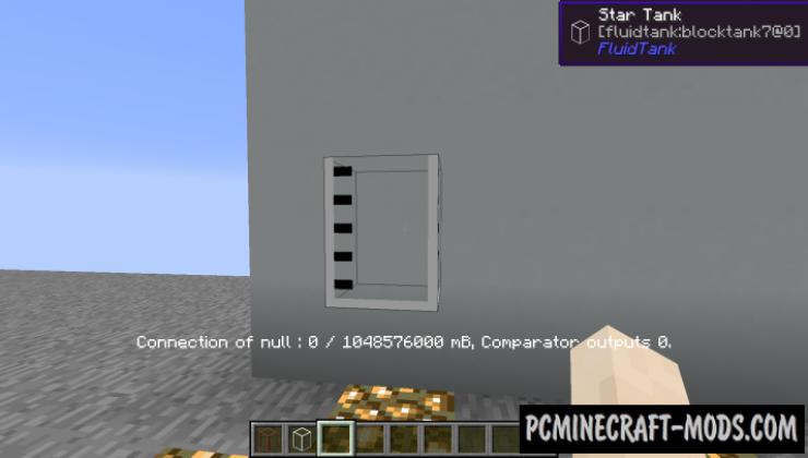 Large Fluid Tank Mod For Minecraft 1.12.2