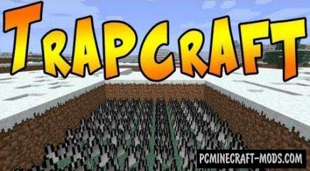 Trapcraft - Secure Craft Protect Mod For MC 1.16.5, 1.14.4